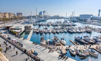 El sector de las embarcaciones de gran eslora invierte 92,3 millones de euros en Barcelona