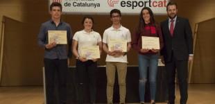 Tres regatistas del CN Estartit galardonados con el Premio Jóvenes Promesas del Deporte Gerundense 2016