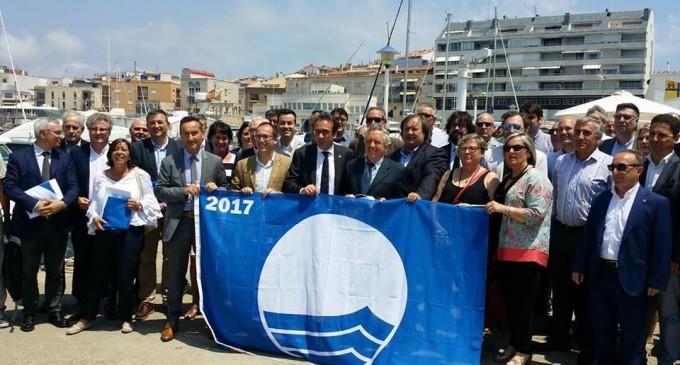 El CN Costa Brava-Palamós acoge la entrega de las Banderas Azules 2017