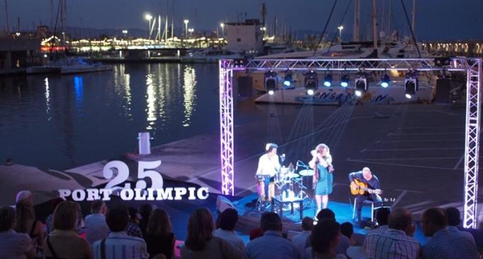 Concierto de Bossa Nova, Traveseat600 y mucho más para los 25 años del Puerto Olímpico