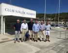 La ACPET recibe la visita de los presidentes de los puertos franceses de la Mediterránea