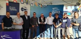 La embarcación Miriapodo, ganadora de la XLI Regata Los Roques VII Trofeu Hermanos Guasch