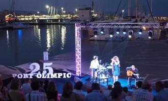 El Port Olímpic tanca un any de celebració del seu 25 aniversari