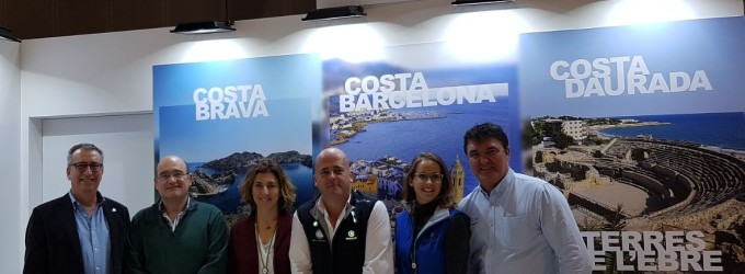 Els Ports de Catalunya segueixen la seva promoció internacional a París