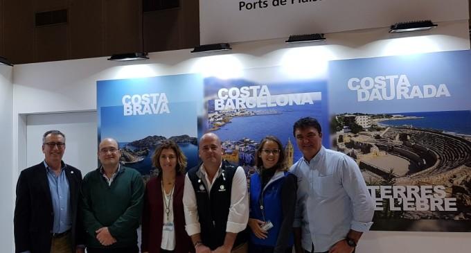 Los Puertos de Catalunya siguen su promoción internacional en París