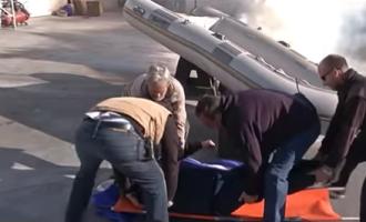 El simulacre d'incendi del Port de Sitges a 'Catalunya directe' de 8TV