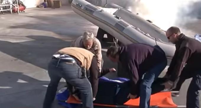 El simulacro de incendio del Puerto de Sitges en 'Catalunya directe' de 8TV