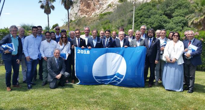 20 puertos deportivos de la ACPET reciben la Bandera Azul en el CN Garraf