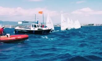 Éxito de la vela en la sede del CN Salou de los Juegos Mediterráneos