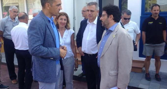 Ports de la Generalitat finaliza la urbanización del muelle del Fortí en el CN Sant Feliu de Guíxols