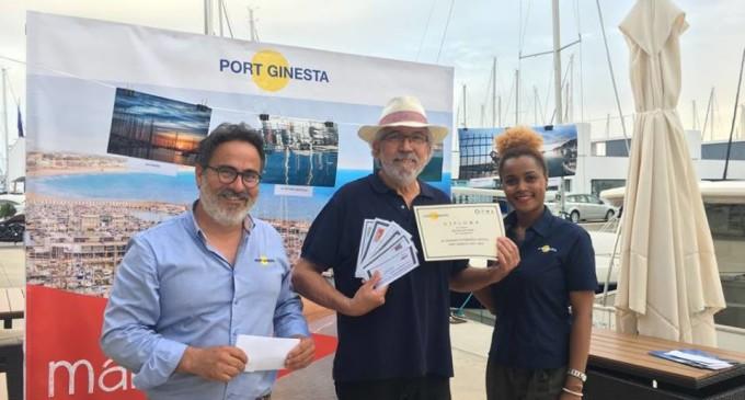 Entrega premios IV Concurso de Fotografía Náutica Port Ginesta y revista N&Y