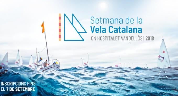 El CN Hospitalet-Vandellós acogerá la Semana Catalana de la Vela 2018