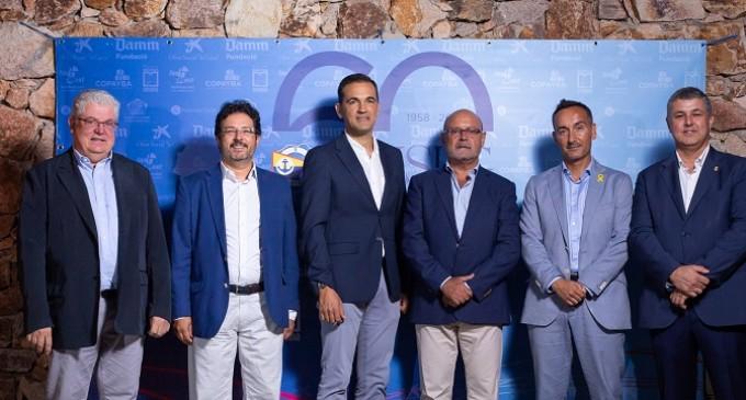 Gran éxito de la multitudinaria cena de los 60 años del Club Nàutic Sant Feliu de Guíxols