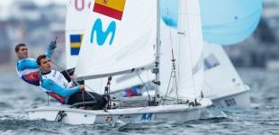 El regatista del CN Cambrils, Jordi Xammar, tercero del mundo de la clase olímpica 470