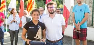 Rafael Rabasa (CN El Balís) y Lluïsa Puig (CN Estartit), campeones de España de clase Europa