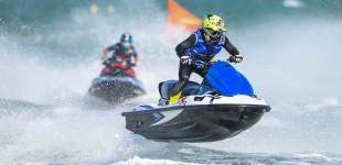 Favolini gana en El Balís el circuito europeo de motos acuáticas AquaX Pro
