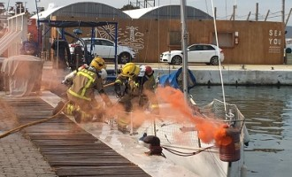 Jornada de formació en emergències en el Port de Sitges Aiguadolç