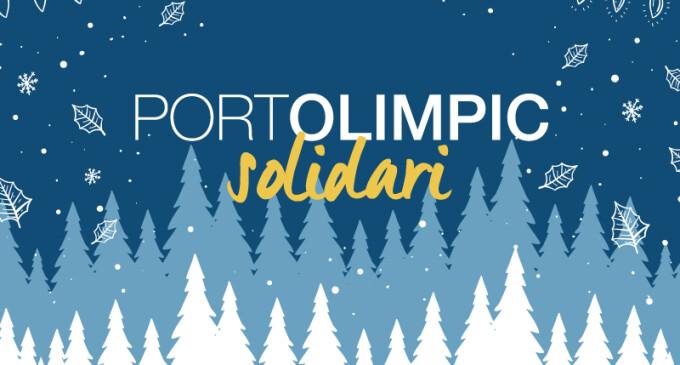 Navidad solidaria en el Port Olímpic