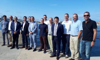El Govern inicia las obras de mejora del dique de cobijo en el puerto de Palamós, con una inversión de 3,6 MEUR