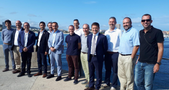 El Govern inicia les obres de millora del dic de recer al port de Palamós, amb una inversió de 3,6 MEUR