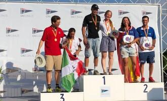 Pau Schilt, del CN Garraf, Campeón del Mundo de la clase Europe