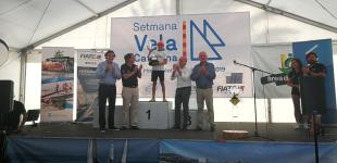 Giulio Zunino (CN Vilanova) y Daniel Garcia (CN El Masnou), campeones de la Semana de la Vela Catalana