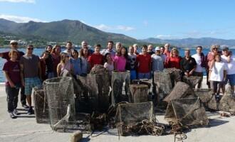 III Limpieza del fondo marino en el Port de la Selva