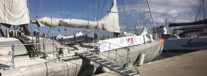 El Velero Medioambiental 'Tara' amarra en el Port Olímpic y abre las puertas al público