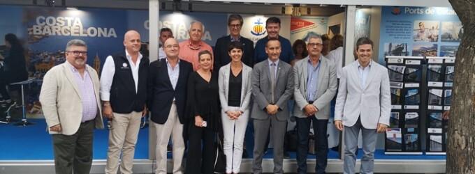 Representantes de los Puertos Puertos de la región francesa de Occitania visitan el stand de la ACPET