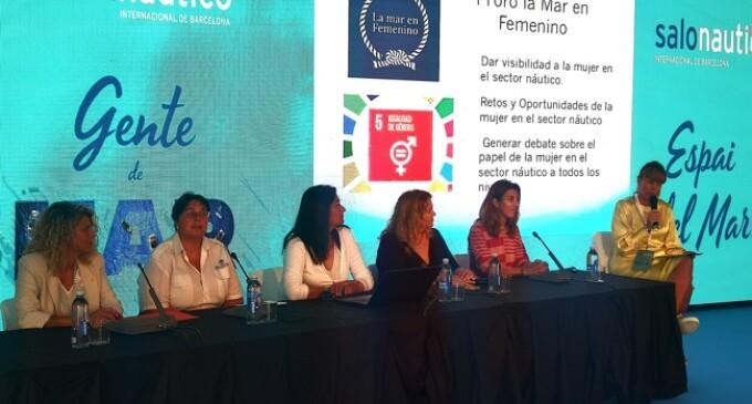El Salón Náutico acoge el I Foro la Mar en Femenino