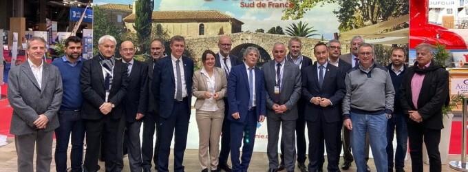 Acuerdo para impulsar los puertos catalanes y los de Occitania en el marco del Salón Náutico de París