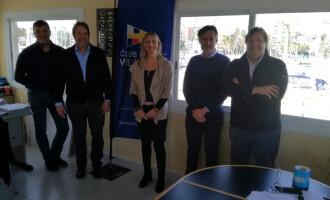 El CN Vilanova acoge la presentación de un innovador sistema de control de embarcaciones
