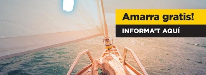 Torna el 'Navegar té premi. Amarra Gratis!': 26 ports esportius ofereixen nits d'amarratge gratuïtes als seus usuaris