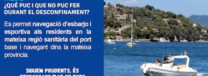 Fase 2: Qué puedo hacer en el Puerto Deportivo?