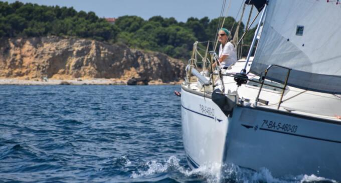 Alrededor de 20 navegantes se dan cita en el Encuentro de Veleros del Club Nàutic l'Escala