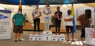 Virginia Gulliermo (CN Garraf) Campeona de Catalunya de Ilca Radial
