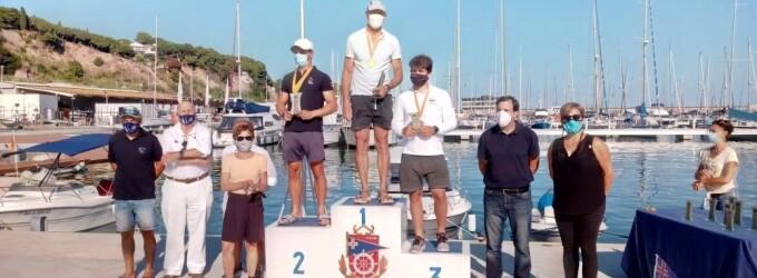 José Luís Doreste (CN Sant Feliu de Guíxols) i Laura Pedraza (CN El Masnou) guanyadors del Campionat de Catalunya per la Classe ILCA Standard i 4,7