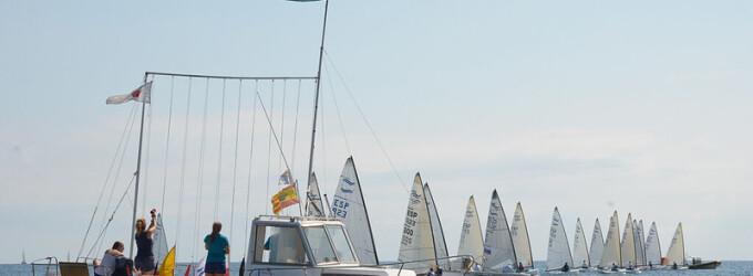 Roque Terol, campió absolut del Campionat de Catalunya Finn-Trofeu Solete celebrat al CN El Balís