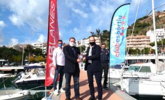 El Club de Vela Blanes, seu de les activitats marítimes del Club Esportiu de Mossos d'Esquadra