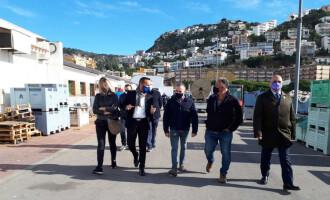 Ports de la Generalitat potencia l'energia renovable a la llotja de peix del port de Roses