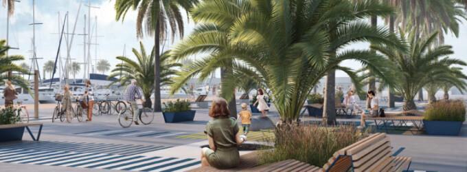 Comença la transformació del Port Olímpic de Barcelona en un espai de vida veïnal vinculat al mar
