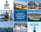 Los Puertos de Cataluña preparan un 2021 lleno de Vitamina Azul