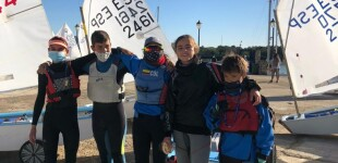 Los Optimist del CN Sant Feliu de Guíxols a la 7ª Regata Ciudad del Puerto – Trofeo Optimist Excellence Cup