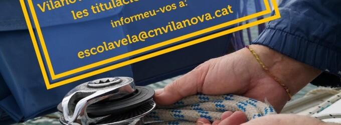 Es posa en marxa l'Escola Nàutica del Club Nàutic Vilanova