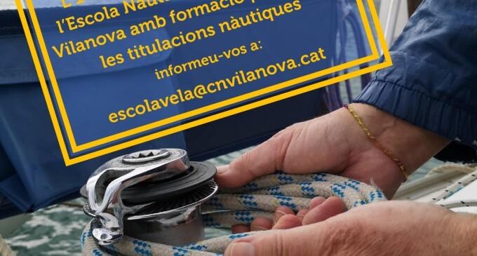 Se pone en marcha la Escuela Náutica del Club Nàutic Vilanova