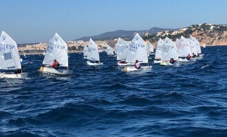 Empieza la VI Guíxols Cup con 163 Optimist inscritos