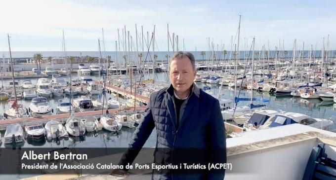Nora Garcia (CN Masnou) y Àlex Muscat (CN Garraf), Mejores Navegantes 2020 en la Fiesta de la Vela Catalana