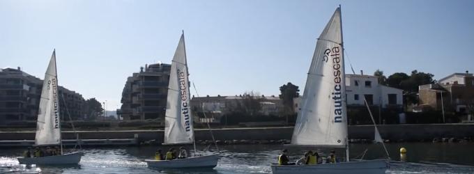 El CN l'Escala apropa el mar als més joves amb una nova edició de 'l'Institut de la Vela'