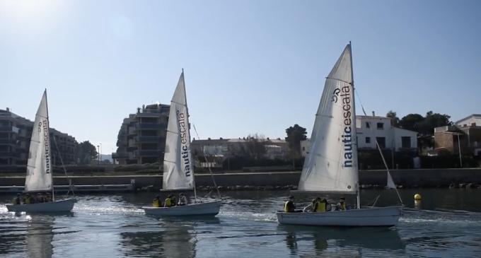 El CN l'Escala acerca el mar a los más jóvenes con una nueva edición del 'Instituto de la Vela'