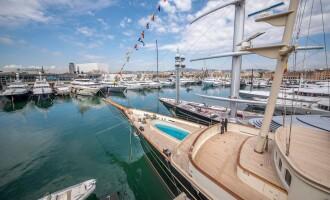 Marina Port Vell volverá a ser el centro mundial de los superyates